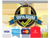 Pagamenti 100% sicuri